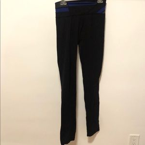 Lululemon Skinny Tights Workout Exercise Leggings